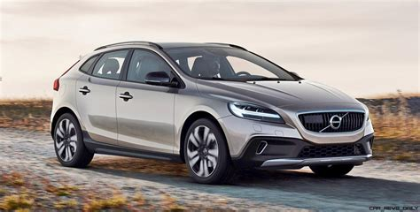 v olvo 2017 volvo v40 and v40 cross country facelift revealed