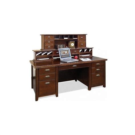 Unexpected Error Cherry Wood Desk With Hutch