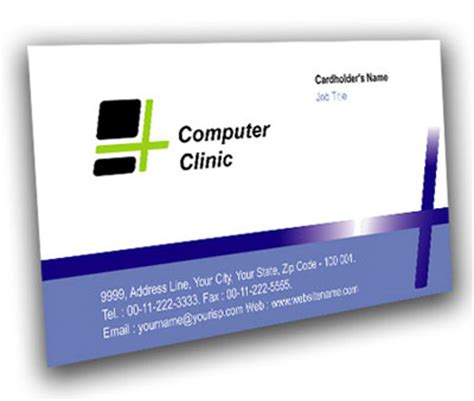 computer repair business card template credit repair templates compare computer prices