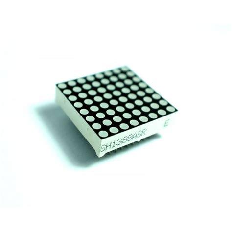 Modul Led Matrix 8x8 By Ecadio jual led dot matrix 8x8 1 5 quot common cathode