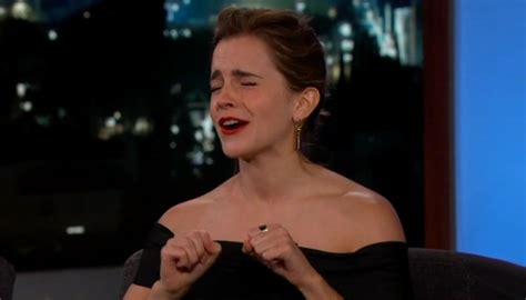 emma watson you re stressing me out emma watson relives embarrassing harry potter moment newshub
