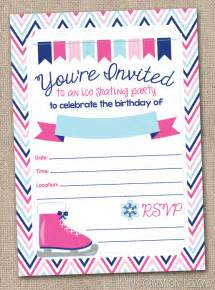 Skating Invitations Templates by Skating Invitations Theruntime