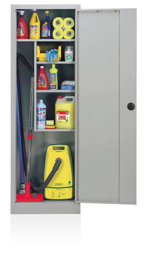 armoire a balais armoire 224 balai monobloc d 233 montable armoire m 233 tallique
