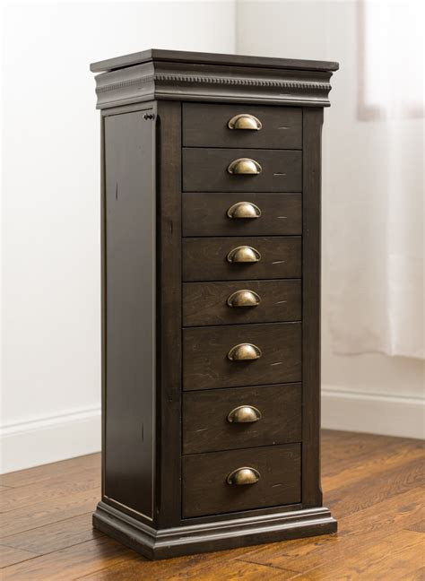 jewelry armoire on sale parker jewerly armoire in grey wash