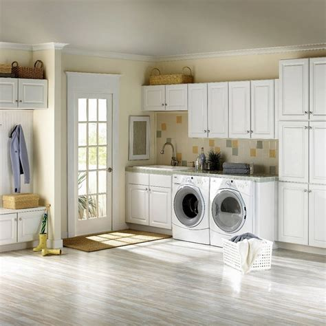Simple White Ikea Laundry Room Set With French Door Plus Ikea Laundry