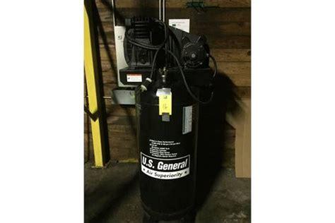 u s general air compressor model us660v 3 5 hp