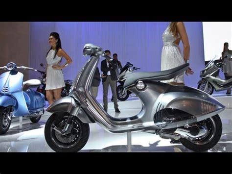 Einsteiger Motorrad Bis 5000 Euro by Video Vespa Px 125 150 Auf Der Eicma 2010