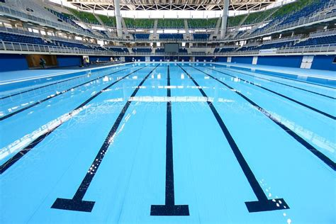how big is a lap pool how big is an olympic size swimming pool