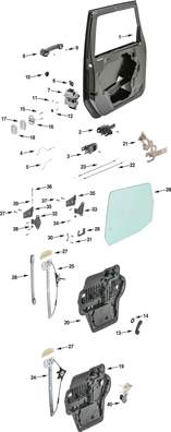 Parts For Jeep Wrangler Jeep Exterior Parts Diagram Jeep Free Engine Image For