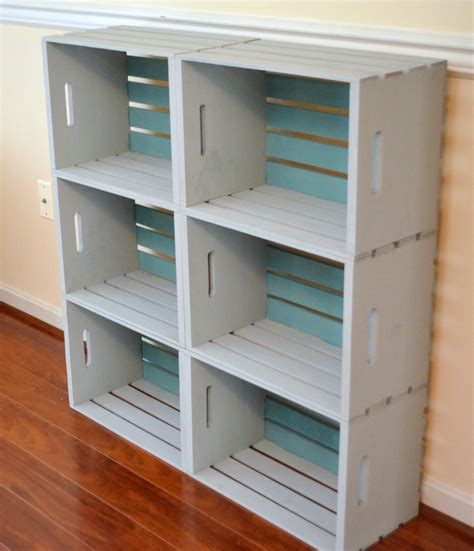 diy crate bookcase latta creations
