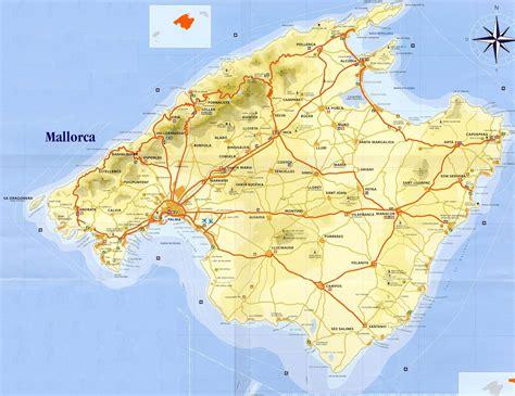 mallorca world map detailed city map of mallorca map