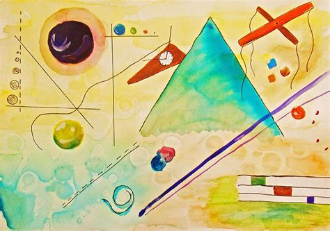imagenes de obras musicales luz y arte la musicalidad de las obras abstractas de