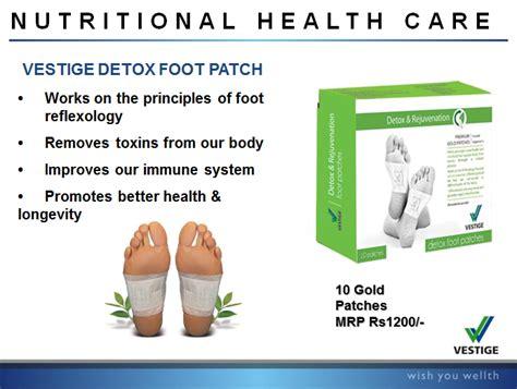 Vestige Detox Foot Patches Benefits by My Vestige World