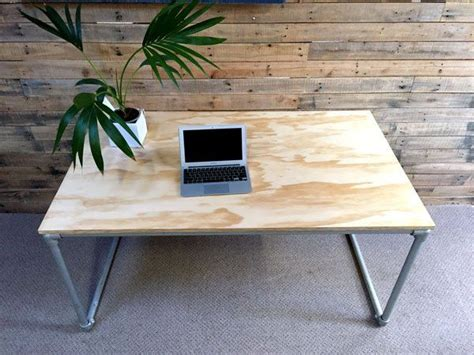 build your own height adjustable desk 1000 images about pipe desks on pinterest industrial