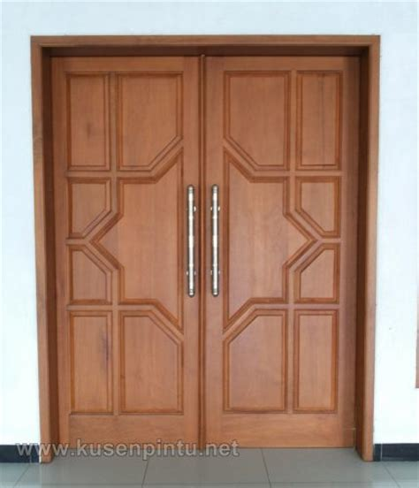 Belleza 2 Dua Pintu memilih model pintu daun kayu minimalis renovasi rumah net