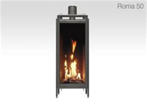narrow gas fireplace created by ortal fireplace