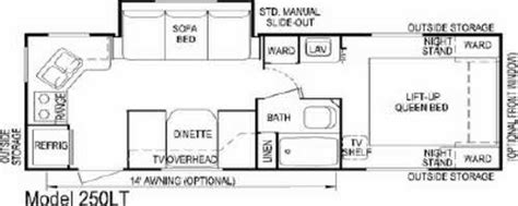 layton travel trailer floor plans 2007 skyline layton lite 250lt floorplan