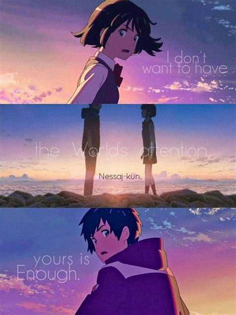film anime kimi no na wa kimi no na wa anime quotes pinterest chang e 3 i