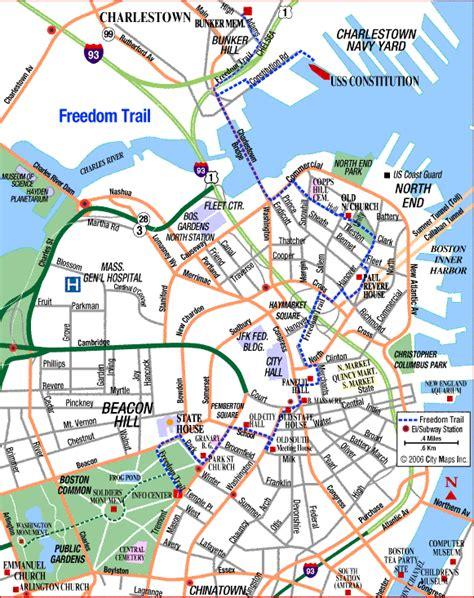 freedom trail boston map doodlerism gt gt travel backpacker international travel