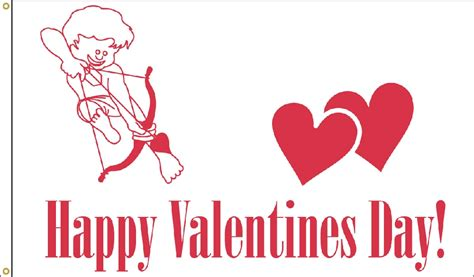 valentines flag s day flag 3 x 5
