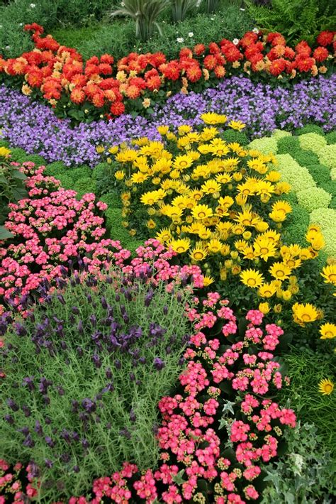 Use A Color Wheel For Flower Garden Design Colorful Flower Garden