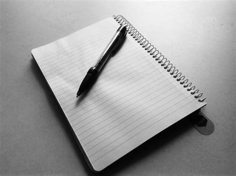 writing pen and paper test your skills scenario near yellowstone park