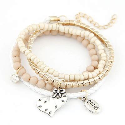 Set Kalung Anting Korean Fashion Multilayer Design Studs Earring Necklace Jewelry Set Green beige decorated multilayer design alloy korean fashion bracelet asujewelry