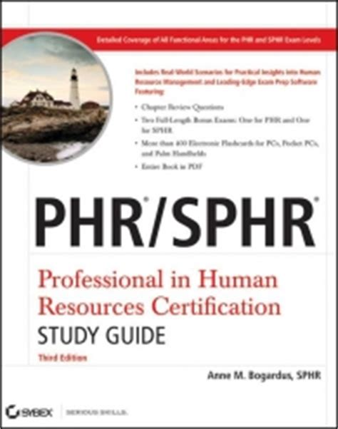 Pdf Professional Human Resources Certification Deluxe by Phr Sphr Professional In Human Resources Certification