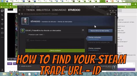 How To Search For In How To Find Your Steam Trade Url Id