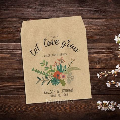 17 best ideas about seed wedding favors on pinterest