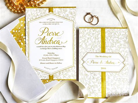 Wedding Invitation Card Bangkok by Wedding Invitation Cards In Singapore 5 Stores To