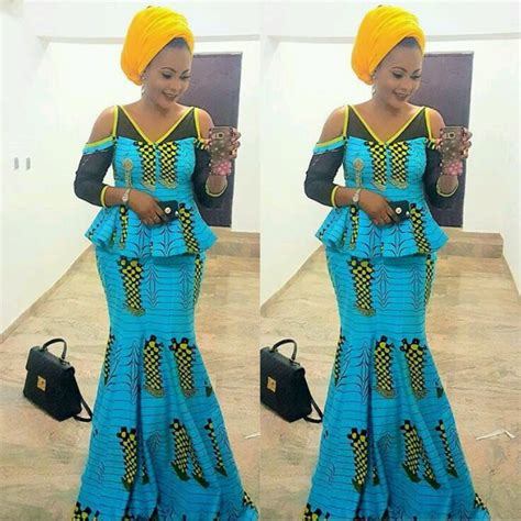 latest nigeria ankara style blouse and skirt latest ankara skirt and blouse styles 2017 african