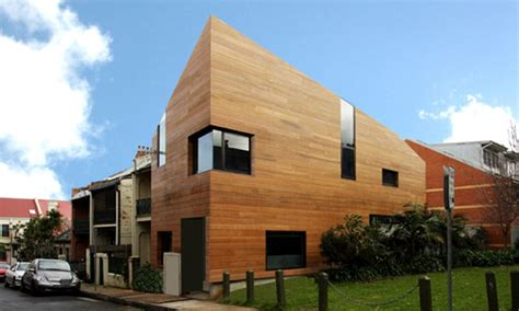 Exterior Home Design For Mac contemporary house design clad in hard timber digsdigs