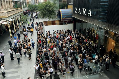 Shopping Abroad Zara by Poor Strategy Has Left Australian Retailers Open To