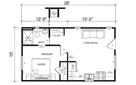 one room cottage plans best images about floor plans one bedroom small with 1