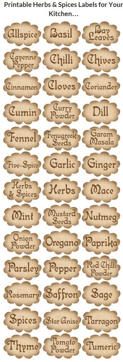 printable kitchen tags 665 best kitchen printables images on pinterest free