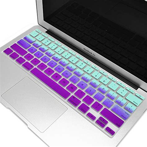 Ipearl Macbook Air 11 Colorful Keyboard Skin Purple 1 compare price to macbook air 11 inch top