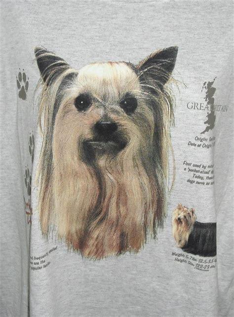 yorkie origin terrier history gray hooded sweatshirt med to 3xl nwots ebay