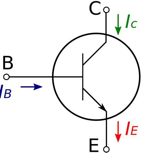 transistor bipolar wiki file diagrama de transistor npn svg wikimedia commons