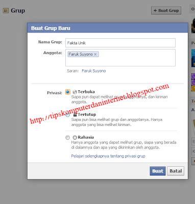 cara membuat grup facebook rame cara membuat facebook fanspage group tutorial fb