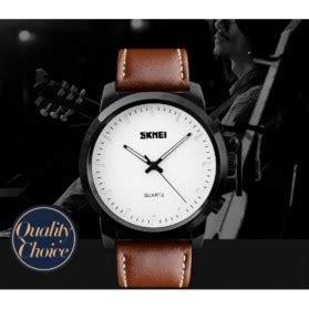 Skmei Jam Tangan Kulit Pria Cowok 1221 Black skmei jam tangan analog pria kulit 1208 black jakartanotebook