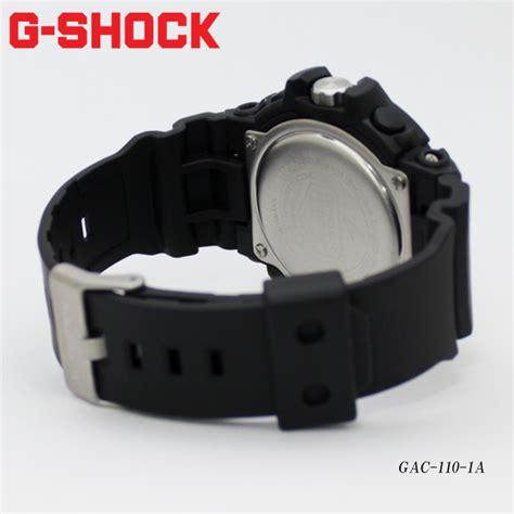 Gac 110 1a Black 楽天市場 casio カシオ g shock g ショック ジーショック gac 110 1a あす楽 送料無料