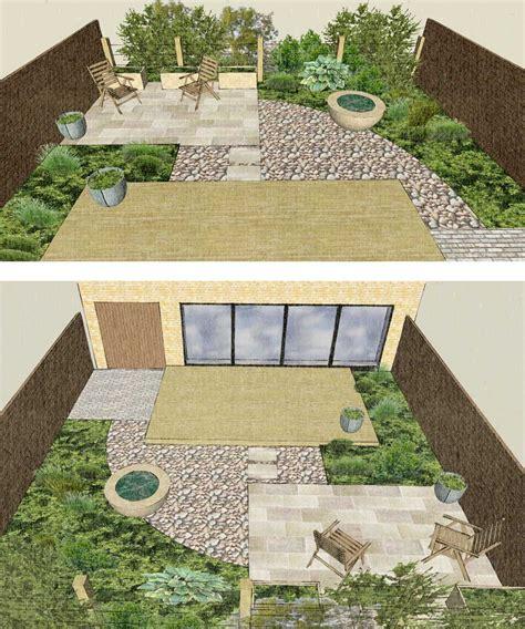 New Build Garden Ideas Scandinavian Style New Build Ashworth Garden Design