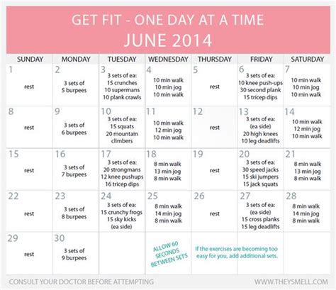 workout plans for beginners at home google fibromyalgia and calendar on pinterest