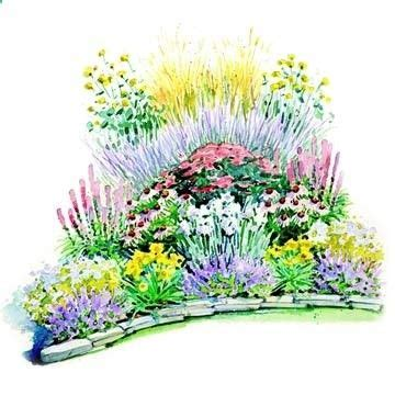 perennial garden plans zone 4 related keywords perennial