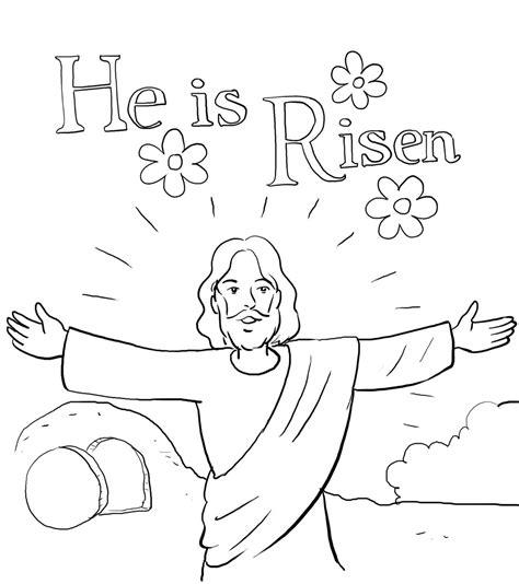 god jesus coloring pages