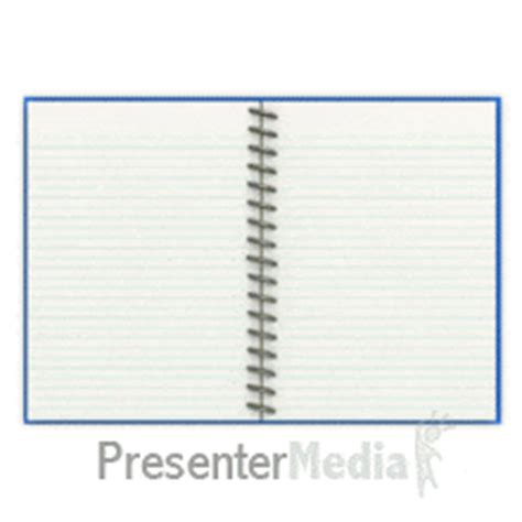 Note Pad Page Turn Tool Kit A Powerpoint Template From Presentermedia Com Powerpoint Notebook Template