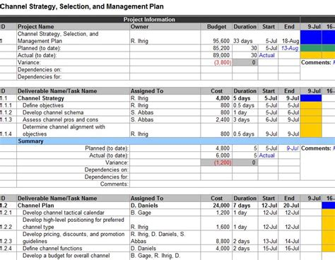 market plan template search results for digital marketing schedule excel