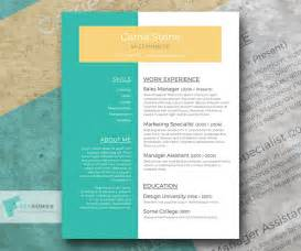 perspective conceptual resume template giveaway