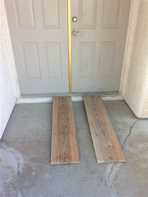 build  wooden ramp   wheelchair hubpages
